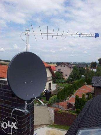 ANTENA Satelitarna 90 Corab Ustawianie i montaz Anten BIŁGORAJ