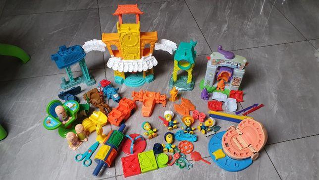 Bardzo duzy zestaw Play-doh