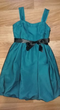 Платье атлас с фатином НМ р12-13у