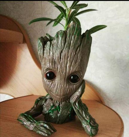 Грут (Groot), вазон, статуэтка,органайзер, Стражи галактики Ma...