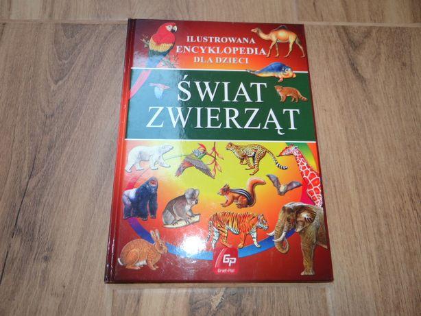 """Ilustrowana encyklopedia dla dzieci """"Świat zwierząt"""""""