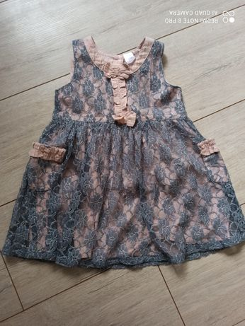 Koronkowa sukienka Next r. 86