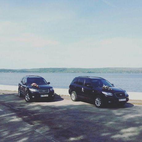 Весільний кортеж Івано-Франківськ. Авто на весілля Hyundai Santa Fe