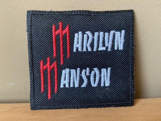 Marilyn Manson- naszywka