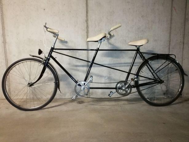 Bicicleta tandem vintage