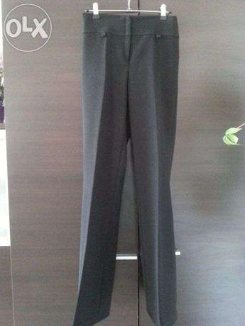 spodnie czarne klasyczne dzwony roz S