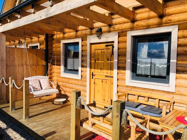 Domki nad morzem sauna jacuzzi Jastrzębia Góra Domek z bala