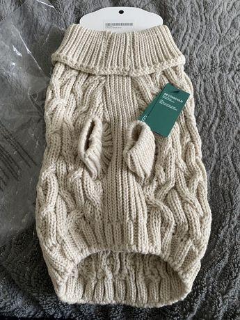Ubranko dla psa S h&m sweterek