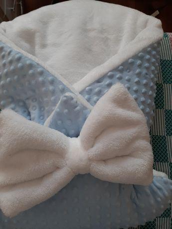 Плед, одеяло, детская постелька, конверт для новорожденного