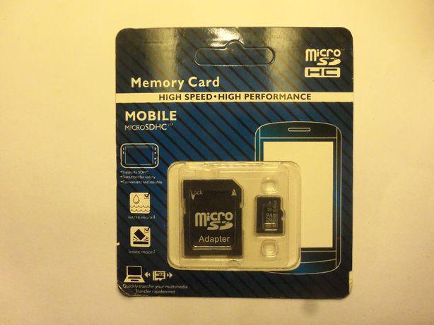 Karta pamięci SD SDHC 64GB CLASS 10 z adapterem Okazja!Szczecin!