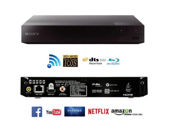 Odtwarzacz Blu-ray SONY BDP-S3700 NETFLIX YOUTUBE Wifi
