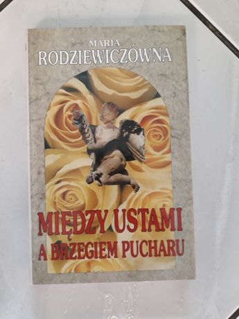 Książka Między Ustami a Brzegiem pucharu, Maria Rodziewiczówna, stan B