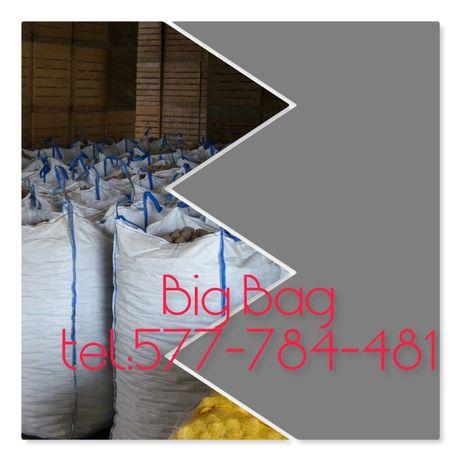 Worek Big Bag na węgiel oraz sól drogową Rozmiar 90/90/120cm (HURT)