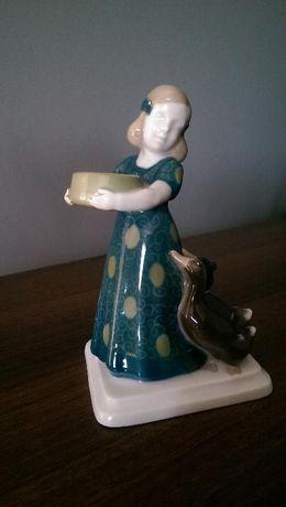 Dziewczynka z kaczkami Rosenthal antyk
