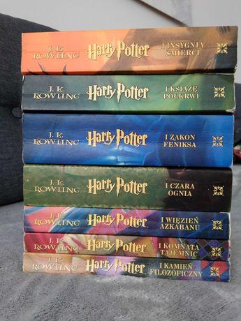 Harry Potter 1-7 zestaw książek, komplet - Rowling - pierwsze wydanie