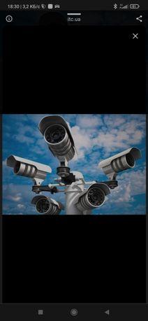 Видеонаблюдение, установка видеокамер