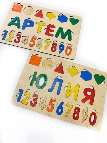 Пазлы, детские игрушки, деревянные пазлы, алфавит, детские пазлы