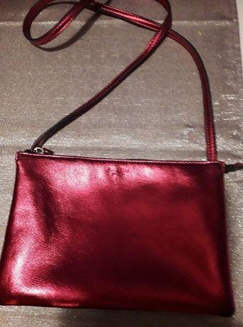 torebka ciemno różowa pull&bear