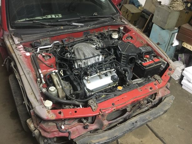 Mitsubishi Galant 8 1997 Двигатель 6А13 2,5V6