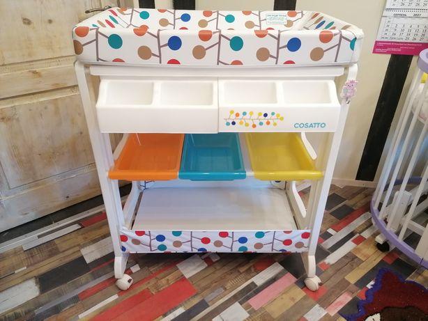 Столик пеленальный и ванночка 2в1, Cosatto