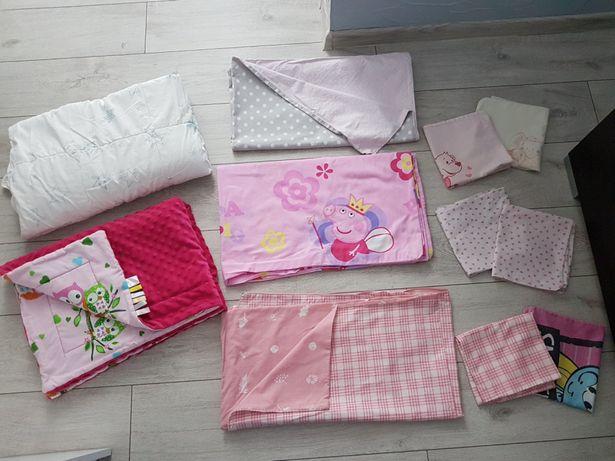 Pościel dziecięca łóżeczko 60x120 łóżko przedszkolaka 80x160 peppa