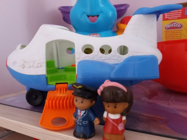 Fisher Price Wesoły Samolot little people