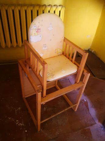 Oddam za darmo łóżeczko krzesełko do karmienia