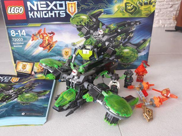 Lego Nexo Knights bombowiec berserkera