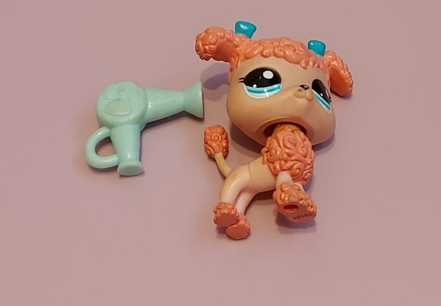 Lps Littlest Pet Shop - Różowy pudel #1956 -unikat