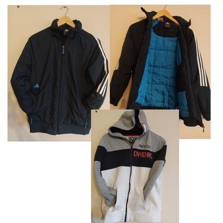 Duży zestaw ubrań dla chłopaka 152/158