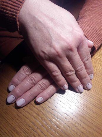 Paznokcie hybrydowe, makijaż, henna masaż twarzy