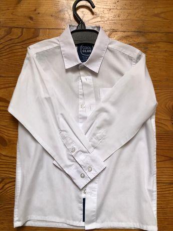 Komplet chłopięcy, Koszula z dł.rękawem, 2 x spodnie, kamizelka, mucha