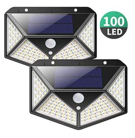Luz solar de 100 LEDs