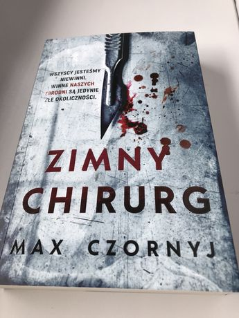 Zimny chirurg -Max Czornyj , stan bardzo dobry