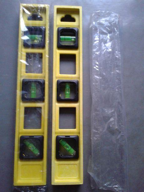 poziomice jedna nowa druga malo uzywana z folia tania wysylka