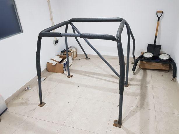 Roll-Bar/roll-Cage interior para Mitsubishi Pajero mk2