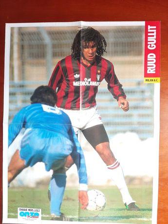Póster Ruud Gullit AC Milan