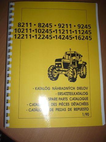 Katalog części Zetor UR2 8211 do 16245 , 8211 do 16245 Czeski , ZTS