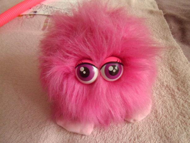 Pieszczoch-interaktywna, różowa maskotka ,puchata.