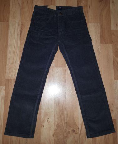 Spodnie chłopięce sztruksy Kiabi 122 NOWE