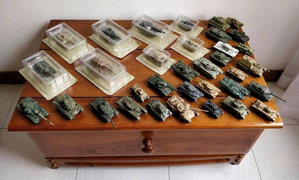 Colecção tanques Guerra Santo António dos Olivais - imagem 1