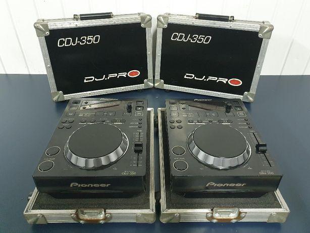 2x Case na Pioneer CDJ DJM 400 350 DN-S VMX 200 100