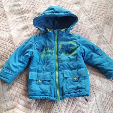 Куртка зимняя для мальчика, р.92