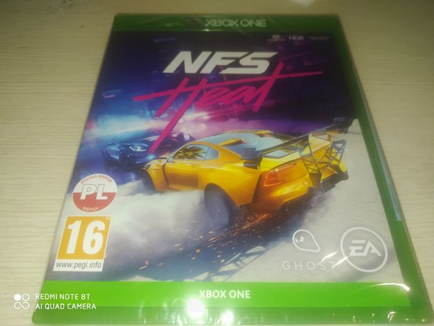 Need for speed nfs HEAT xbox one/series x nowa folia PL