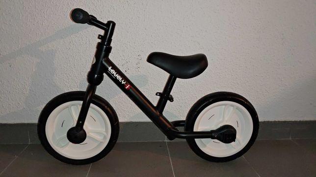 Bicicleta 2 em 1 infantil de equilíbrio adaptável com e sem rodas