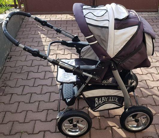 Wózek BabyLux Baby Lux spacerówka MEGA MOCNA duży kosz na zakupy IGŁA