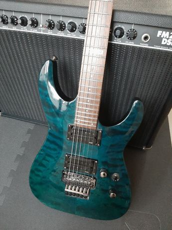 Gitara elektryczna Ltd esp mh 100qm