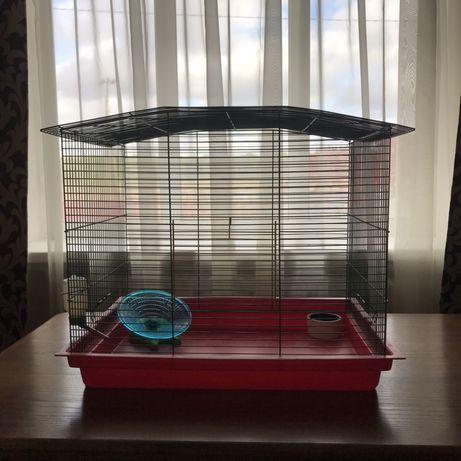Клетка Клітка для животных для грызунов гризунів хомяк крыса попугай
