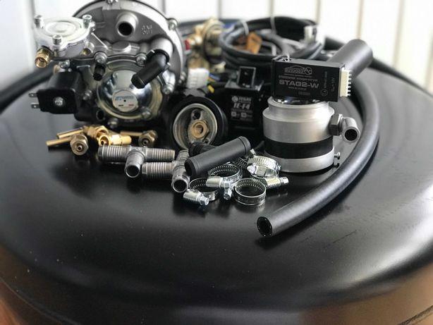 Полный Комплект ГБО 2 поколения карбюратор, инжектор Tomasetto Италия