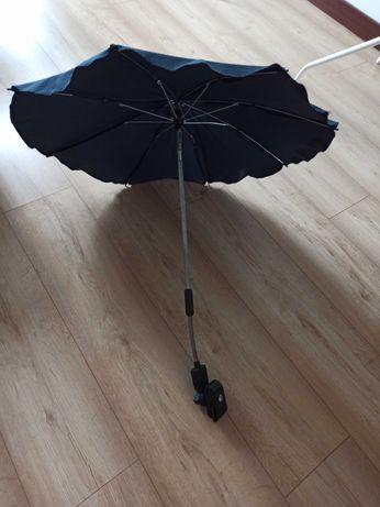 Granatowa parasolka do wózka
